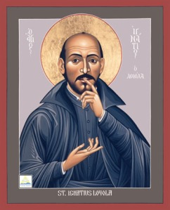 GOD FIRST. St Ignatius of Loyola, founder of the Jesuits, says we should rid our lives of unhealthy attachments